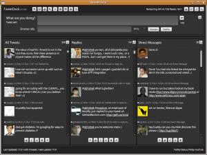 screenshot tweetdeck 300x225 - Install TweetDeck On Ubuntu Linux