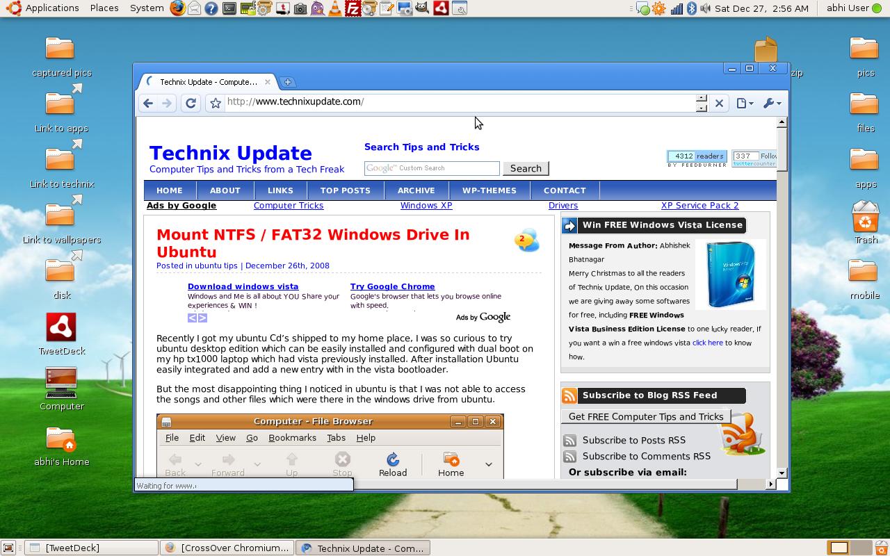 screenshot1 - Install Google Chrome In Ubuntu