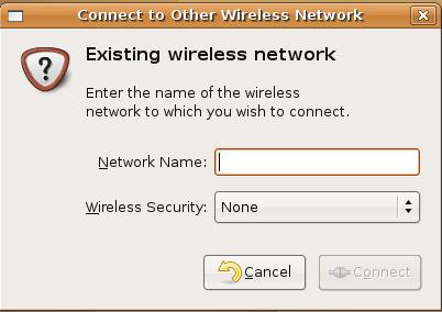 wireless network name security - Configure Wi Fi In Ubuntu Intrepid Ibex With Broad