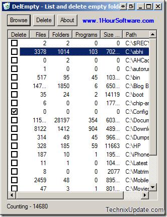 delempty thumb - 3 Free Tools To Delete & Remove Empty Folders