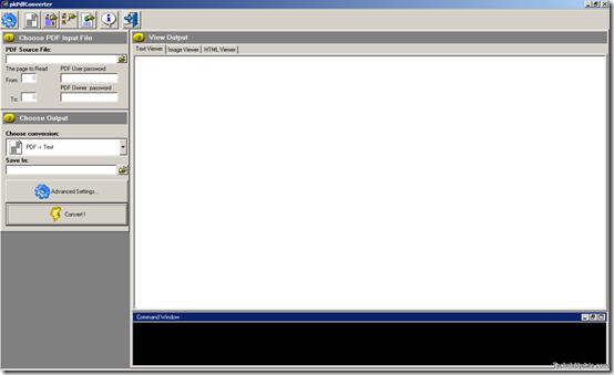 pdftotext thumb - pkPdfConverter - Convert PDF To Plain Text Faster