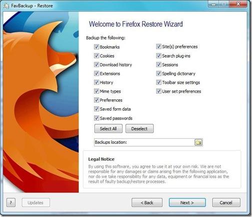 favbackup-backup-options