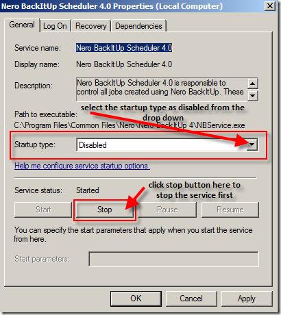 NBService-dsable