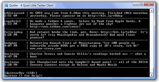 Quitter-screenshot
