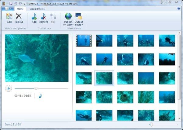 windows live movie maker version 14