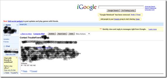 read-gmail-igoogle