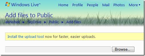 install-rich-upload-tool