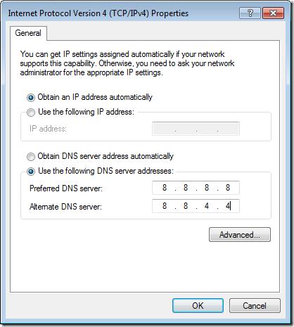 configure-google-dns-servers