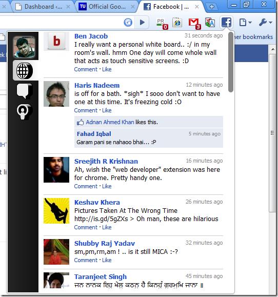 facebook-addon-for-google-chrome
