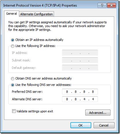 google-dns-servers