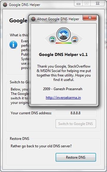 google-public-dns-helper